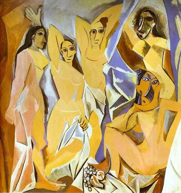 Картина_Пабло_Пікассо_Авіньйонські_панянки_1906-1907